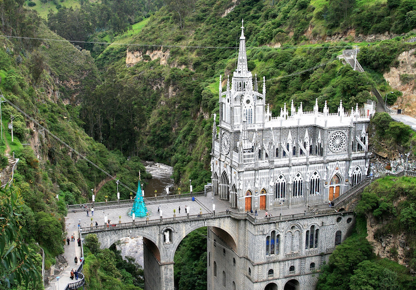 Colombia, Ipiales, Las Lajas Sanctuary