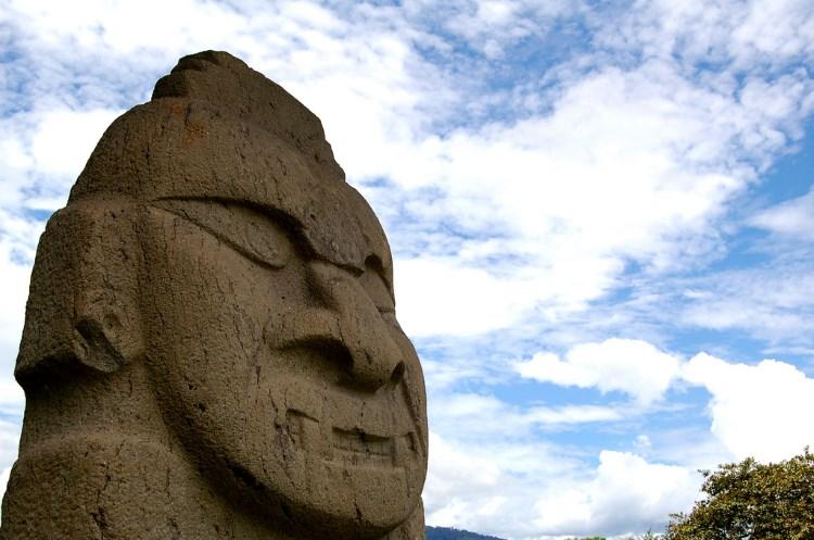 Colombia, San Agustin, Archaeological Park