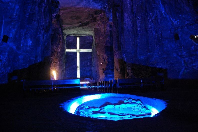 Colombia, Zipaquira, Salt Cathedral