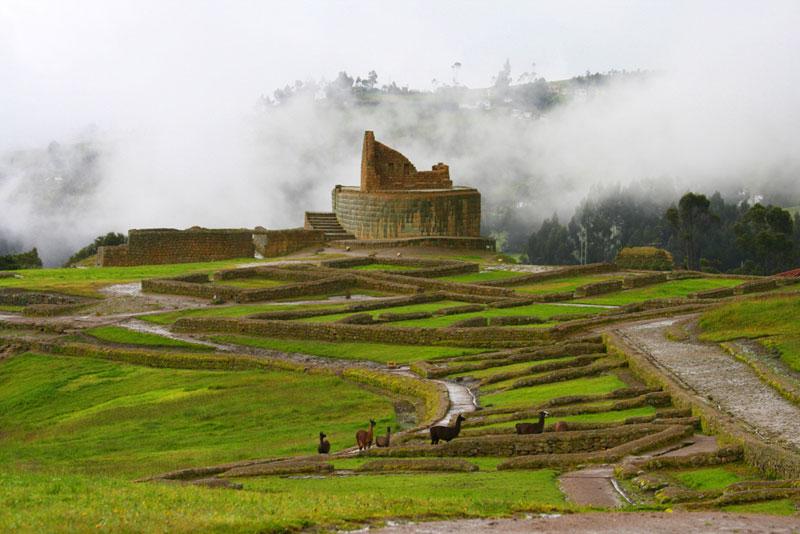 Ecuador, Ingapirca Inca Ruins
