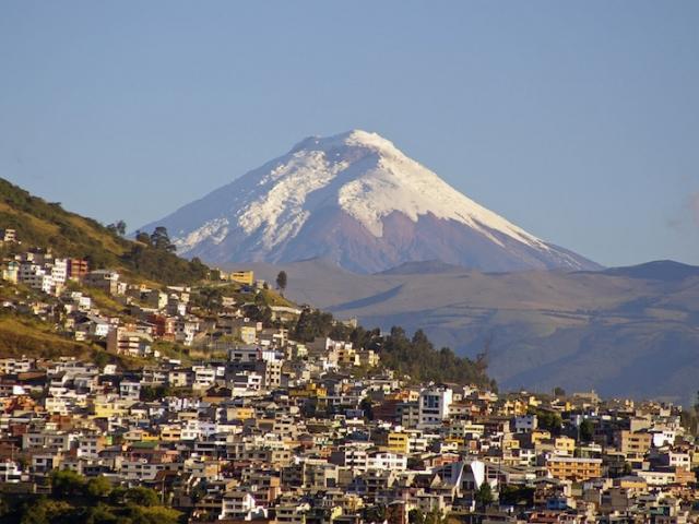 Ecuador, Quito, Cotopaxi Volcano