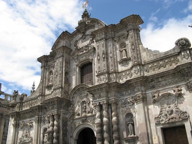 Ecuador, Quito, La Compania Church