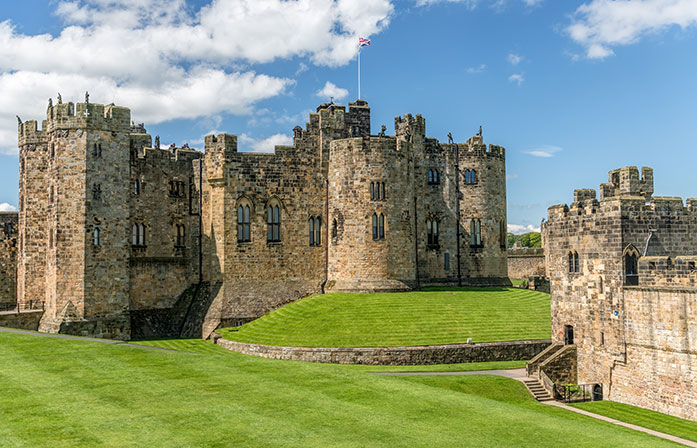 United Kingdom | Alnwick Castle, England