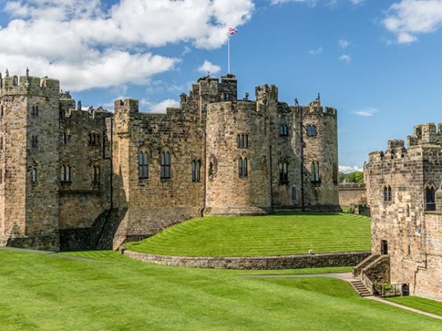 England, Alnwick, Alnwick castle