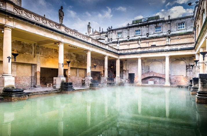 Britain & Ireland Grandeur | Roman Baths, Bath,  England, UK