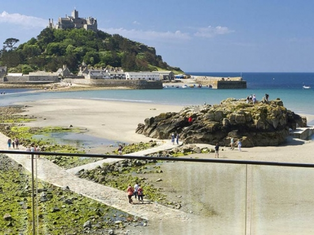 England, Cornwall, St Michael's Mount