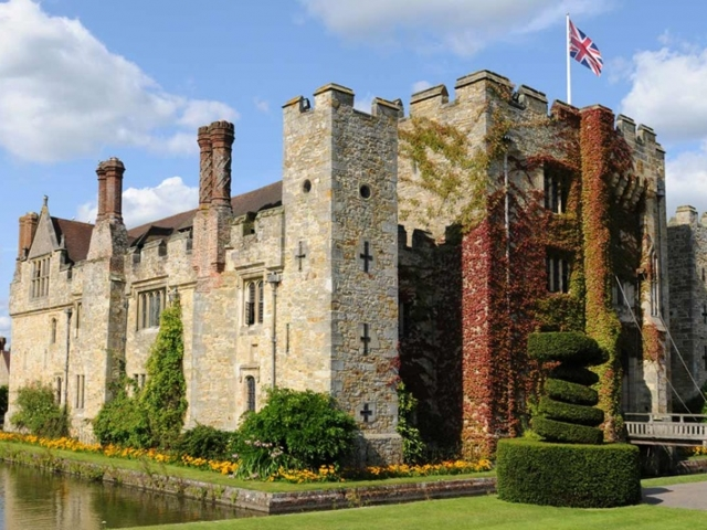 England, Edenbridge, Hever Castle