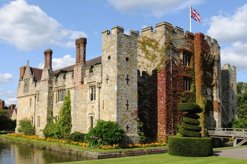 England, Edenbridge, Hever Castle