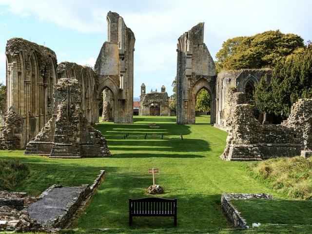 England, Glastonbury, Glastonbury Abbey