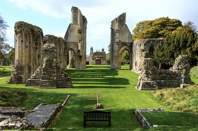 England, Glastonbury, Glastonbury Abbey