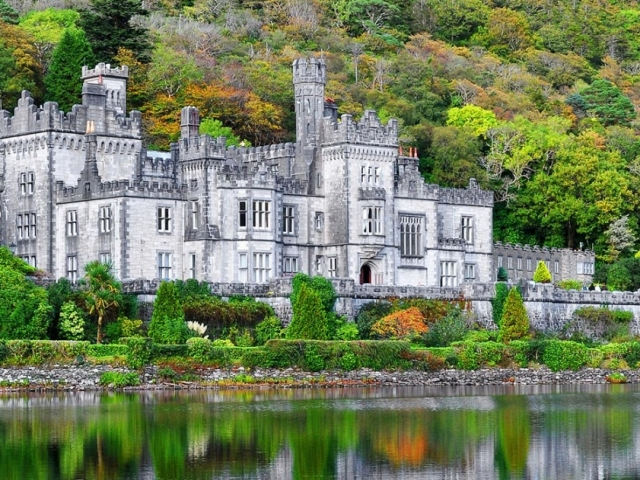 Ireland, Connemara, Kylemore Abbey