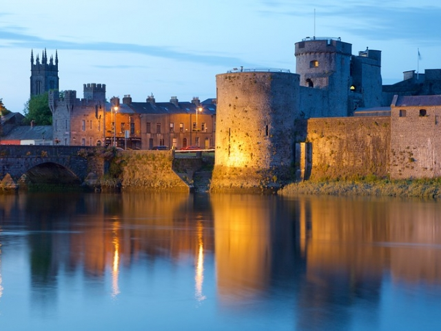 Ireland, Limerick, King Kohn's Castle