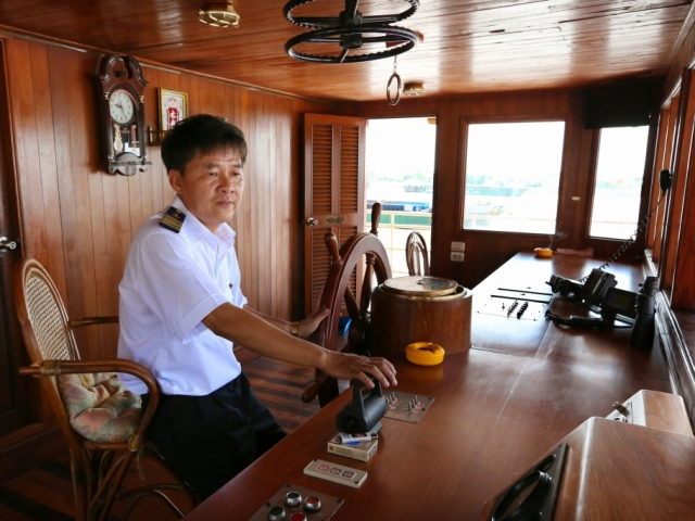 RV Indochine - Ships Captain