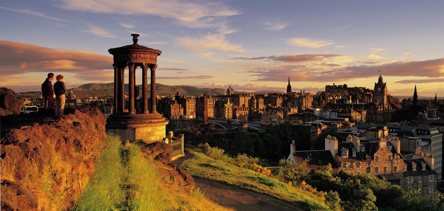 Scotland, Edinburgh, Catlon Hill, Nelson Monument