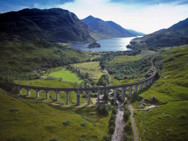 Scotland, Glenfinnan Viaduct