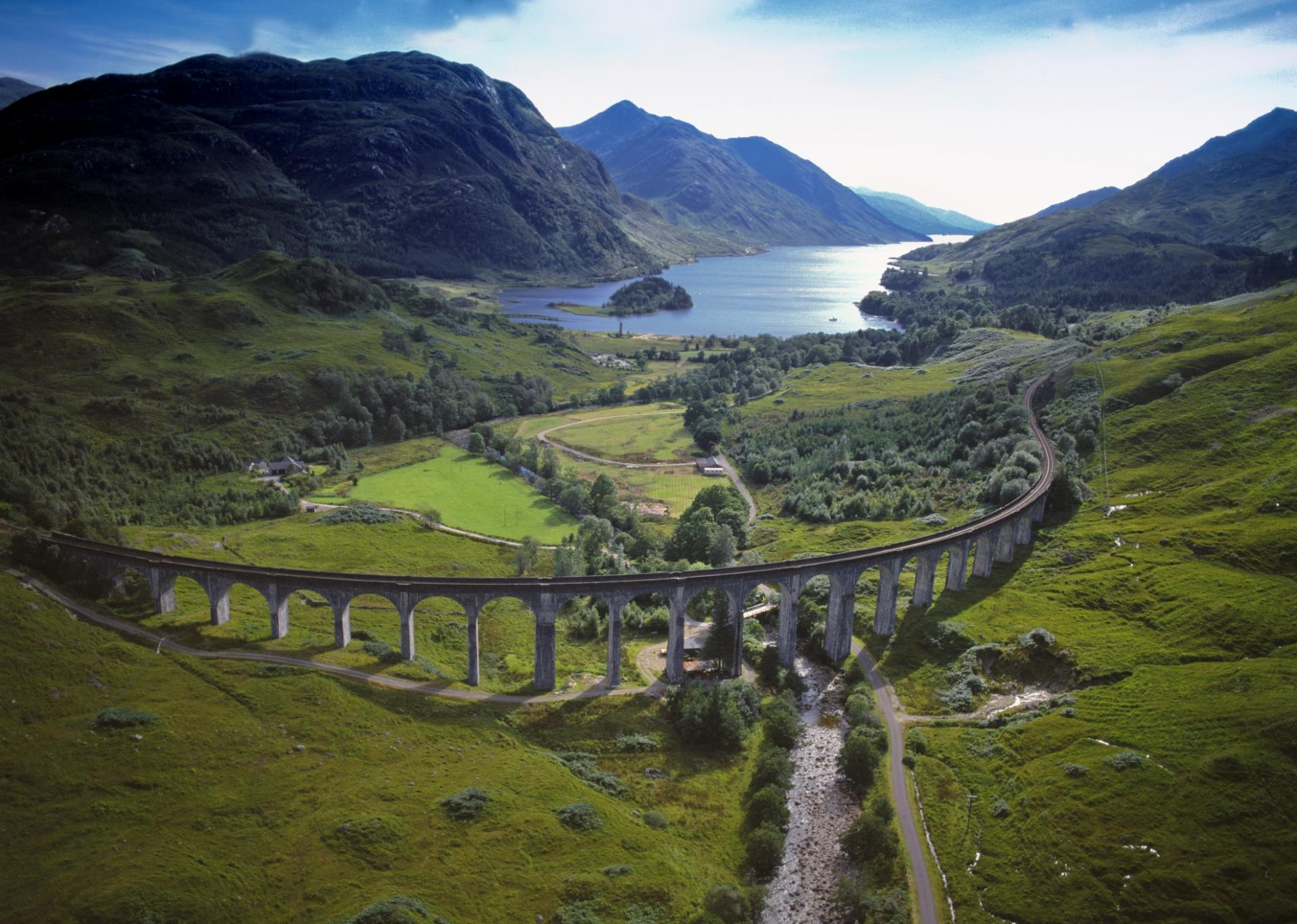 Scotland, Glenfinnan Viaduct