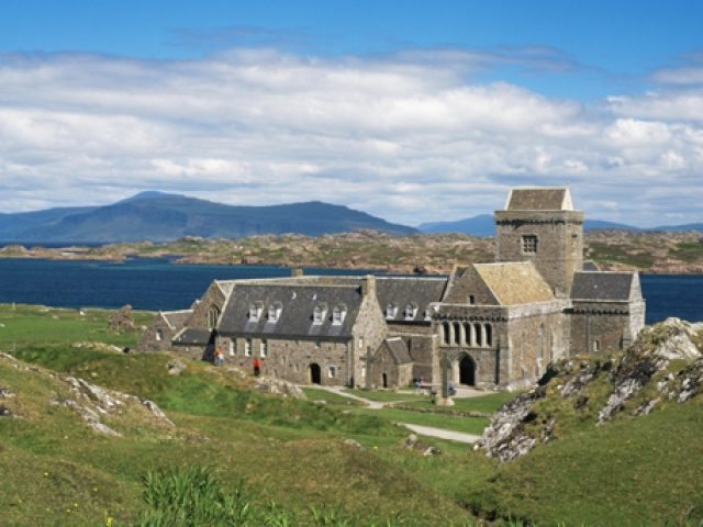 Scotland, Iona, Abbey
