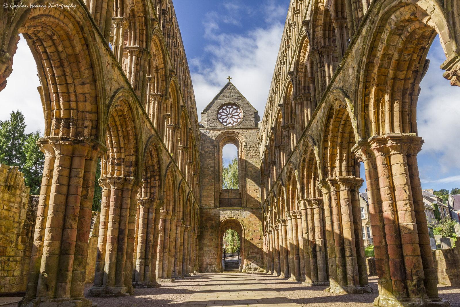 Scotland, Jedburgh, Jedburgh Abbey