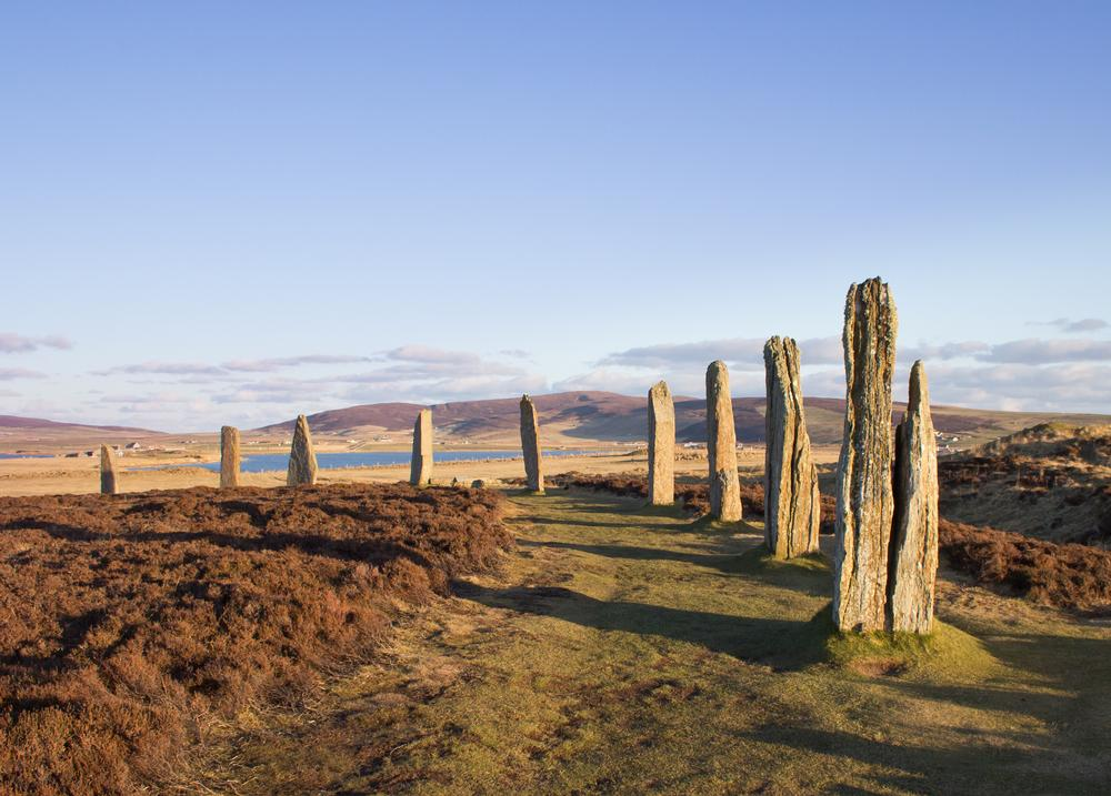 Scotland, Orkney Islands, The Ring of Brodgar