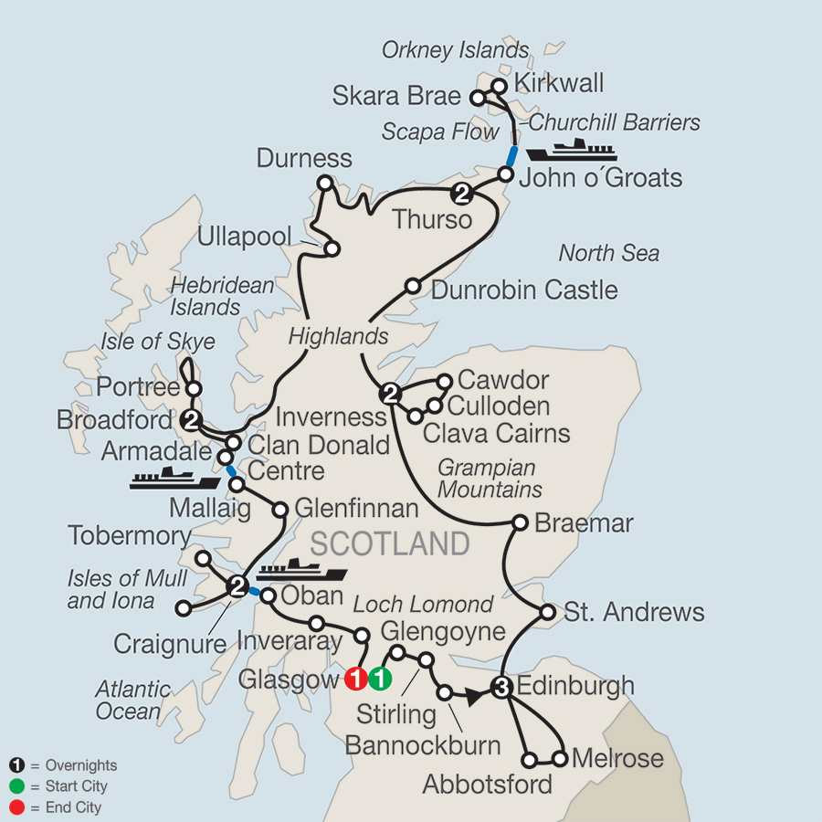 Scotland, Scottish Highlands & Islands