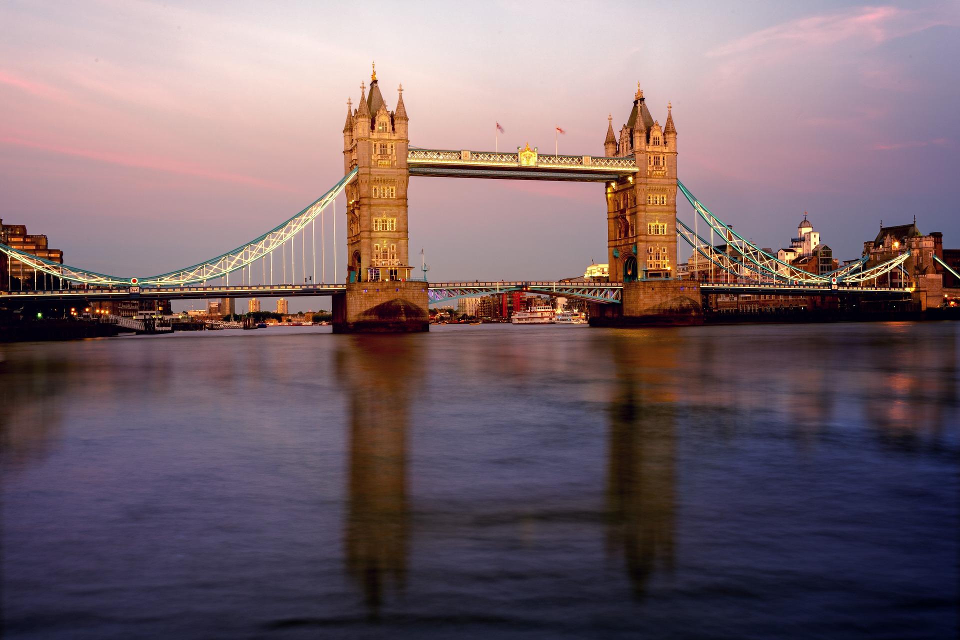 London & Country | Tower Bridge, Thames River, London, England, UK