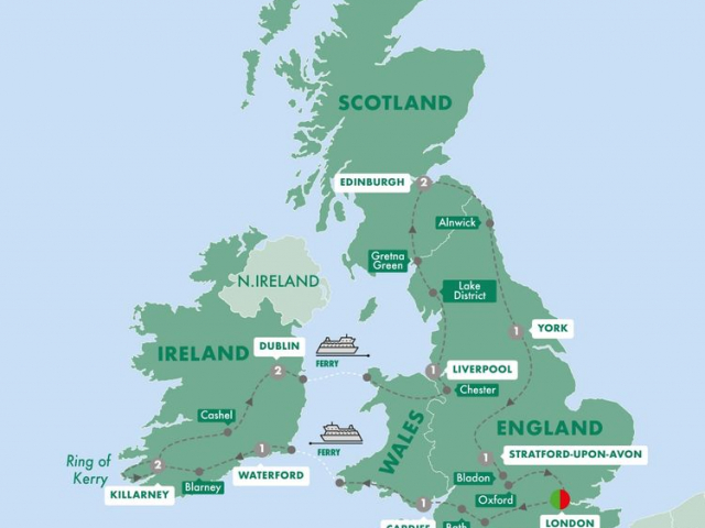 Wonders of Britain & Ireland