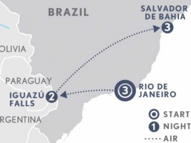 Flavours & Rhythms of Brazil