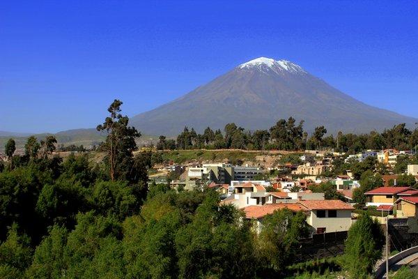 Peru, Arequipa, El Misti