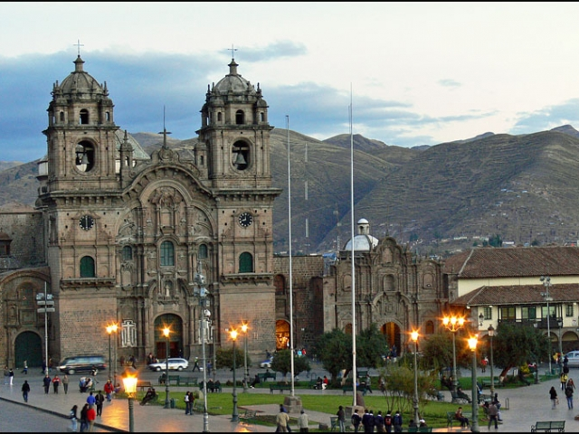 Peru, Cusco, Church of La Compania de Jesus