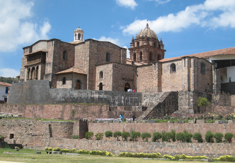 Peru, Cusco, Korikancha, the Temple of the Sun