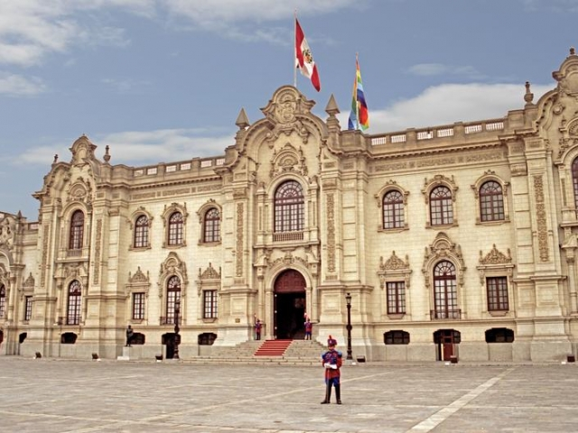 Peru, Lima, Government Palace