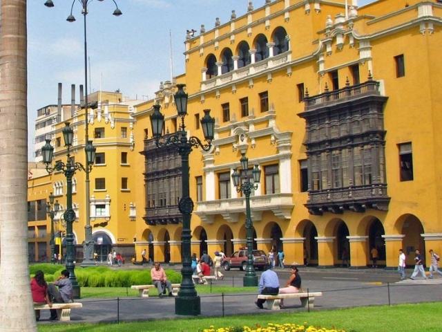 Peru, Lima, Metropolitan City Hall