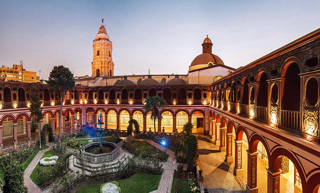 Peru, Lima, Santo Domingo Convent