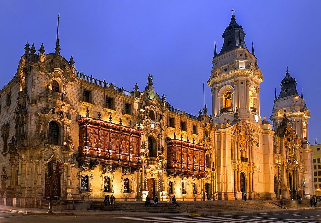 Peru, Lima. Archbishop's Palace