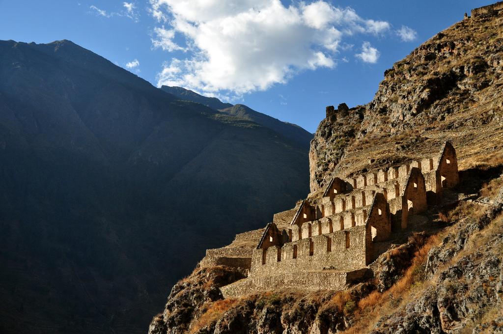 Peru, Ollantaytambo, Inca Ruins