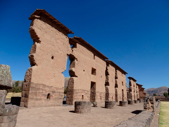 Peru, Racchi, The Temple of God Wiracocha