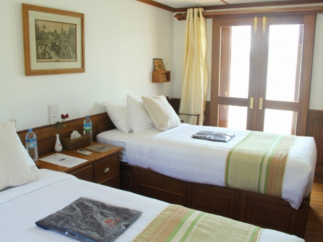 Pandaw River Expeditions, RV Kalay Pandaw, Cabin