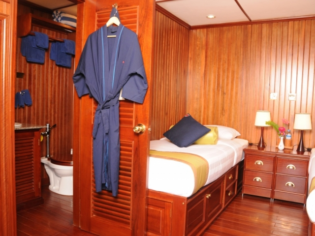 Pandaw River Expeditions, RV Katha Pandaw, Cabin