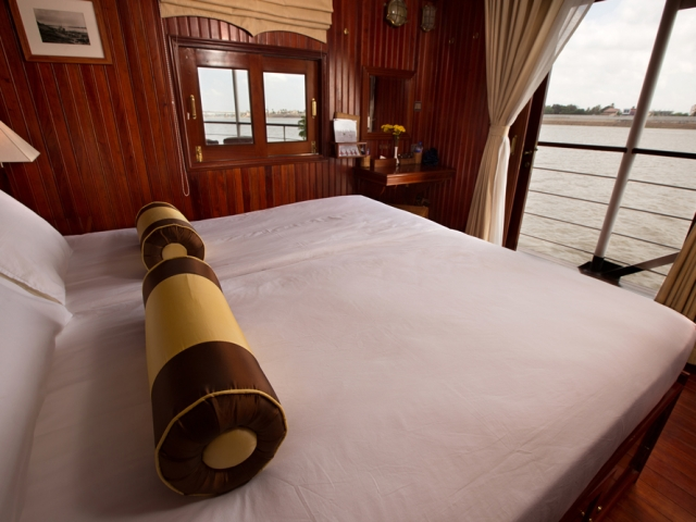Pandaw River Expeditions, RV Angkor Pandaw, Cabin