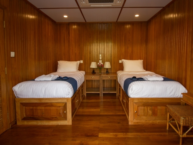 Pandaw River Expeditions, RV Kindat Pandaw, Cabin