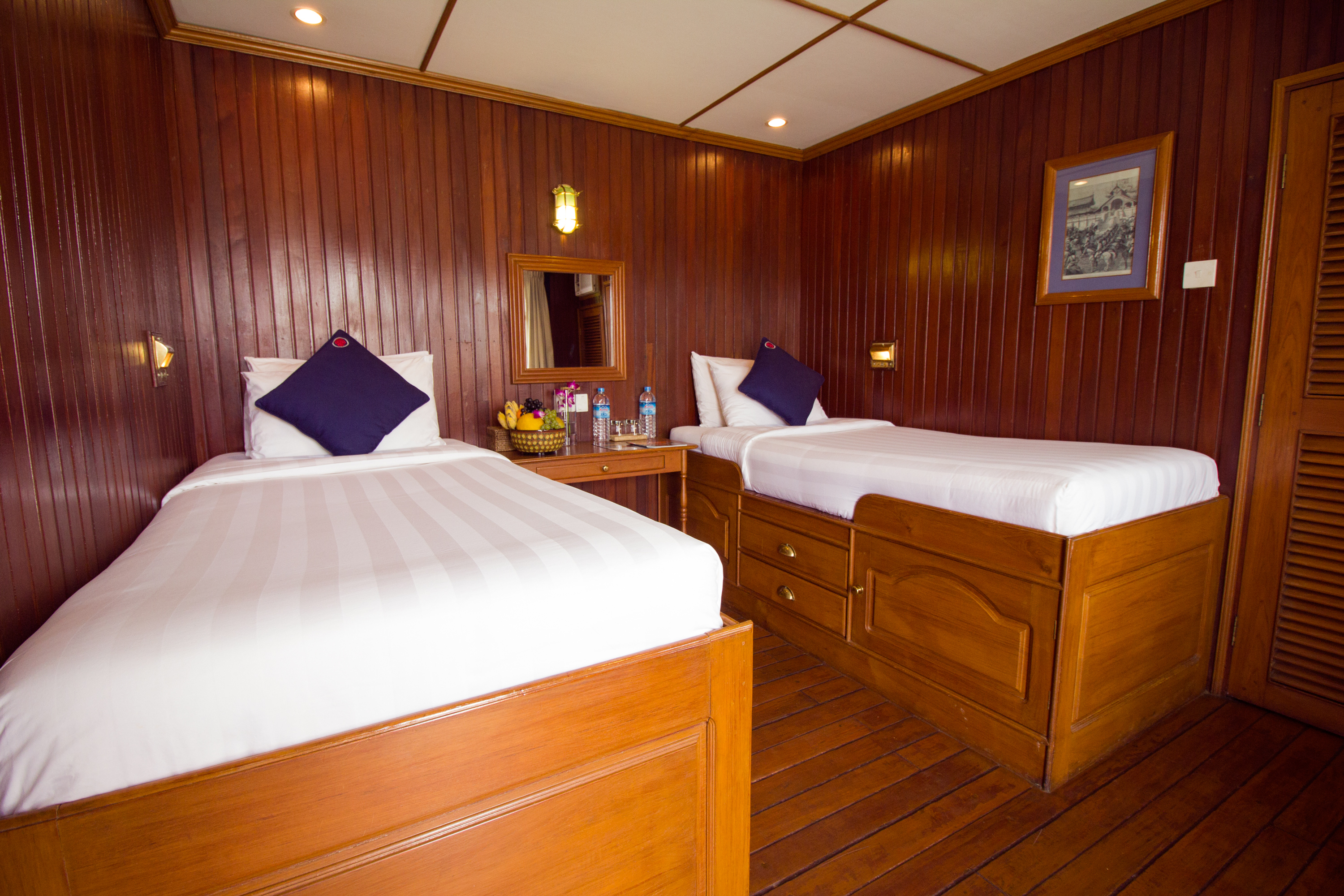 Pandaw River Expeditions, RV Pandaw II, Cabin