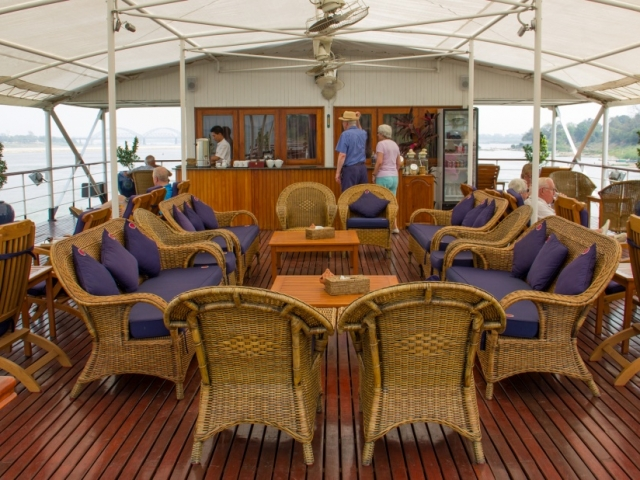 Pandaw River Expeditions, RV Pandaw II, Sun Deck