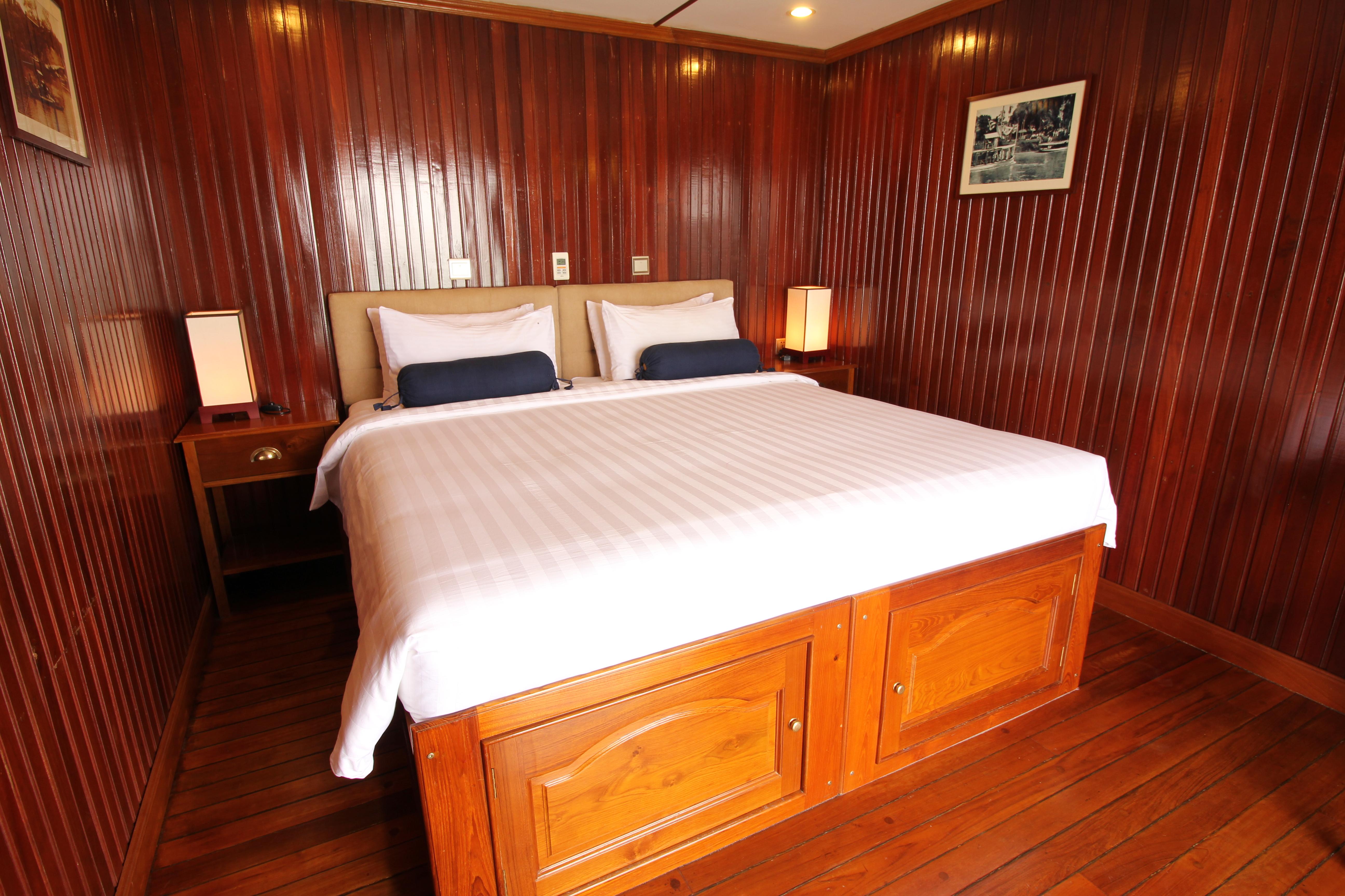 RV Mekong Pandaw, Cabin