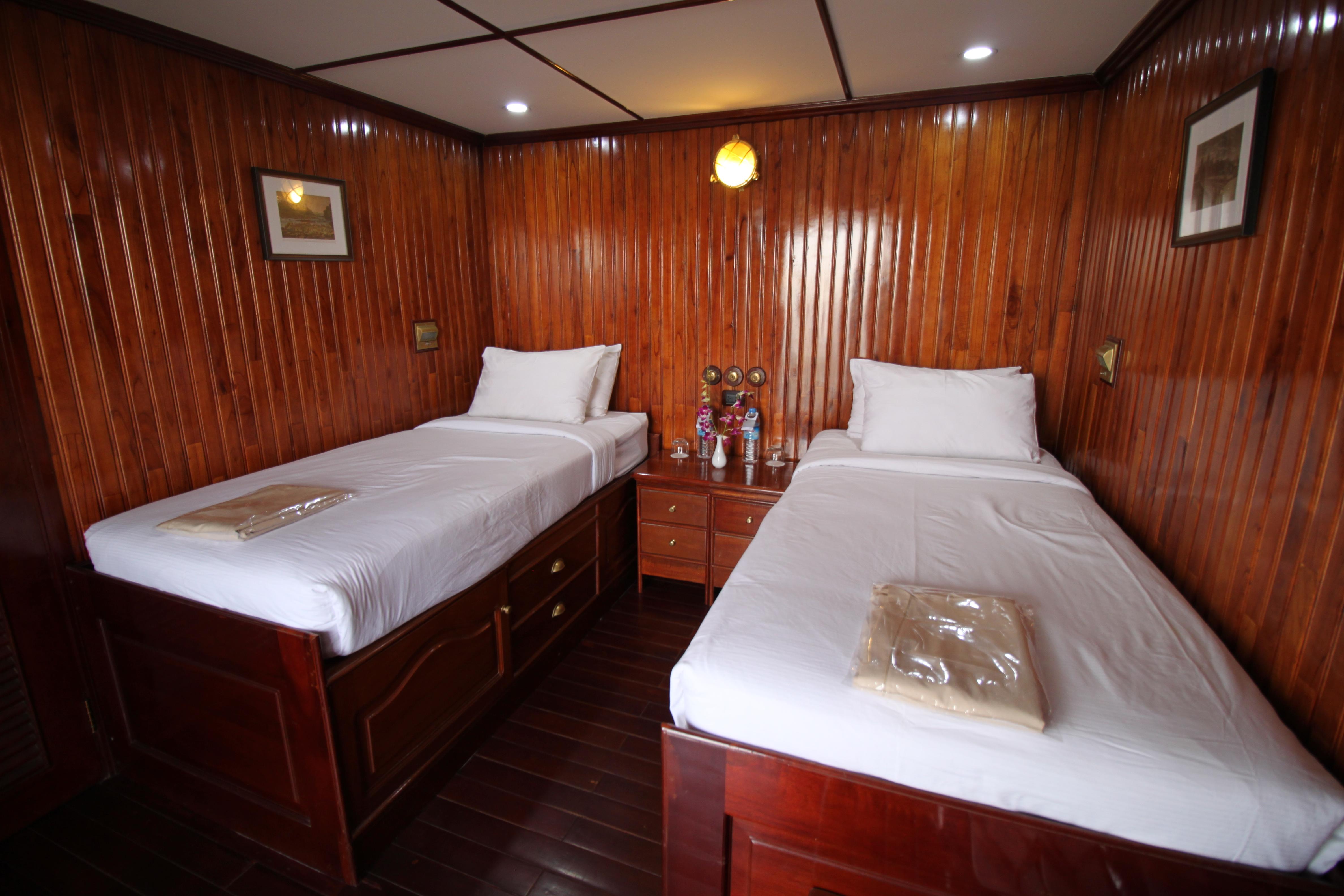 RV Indochina Pandaw, Cabin