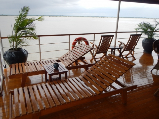 Pandaw River Expeditions, RV Kha Byoo Pandaw, Deck
