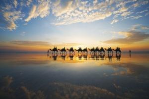 Australia | Cable Beach Camel Ride, Broome, Western Australia