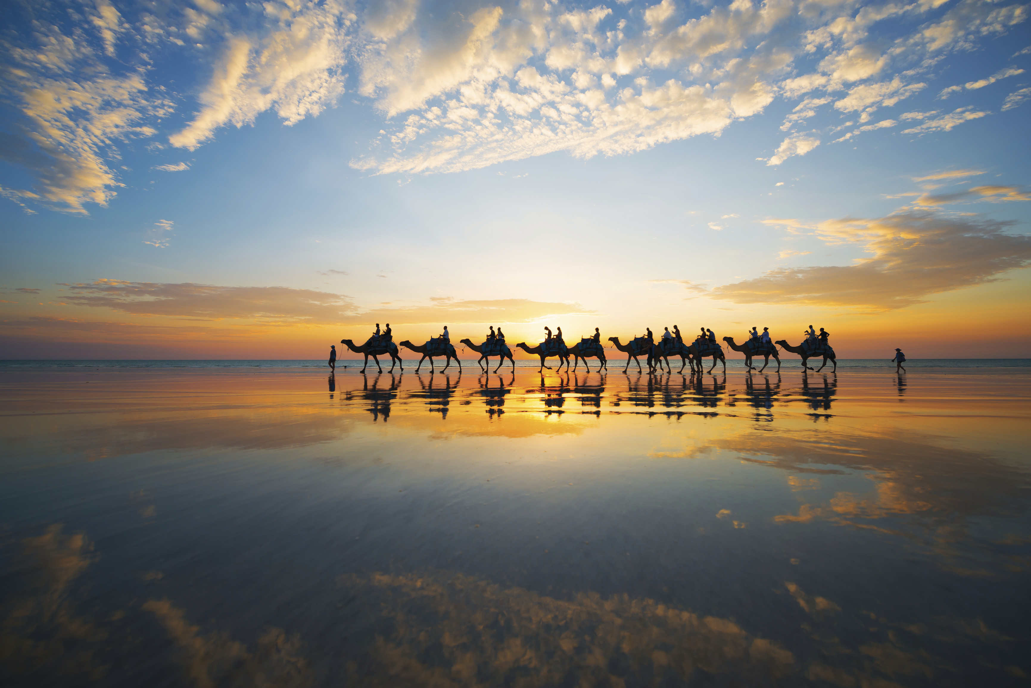 Alma Travel - Broome, Cable Beach Camel Ride