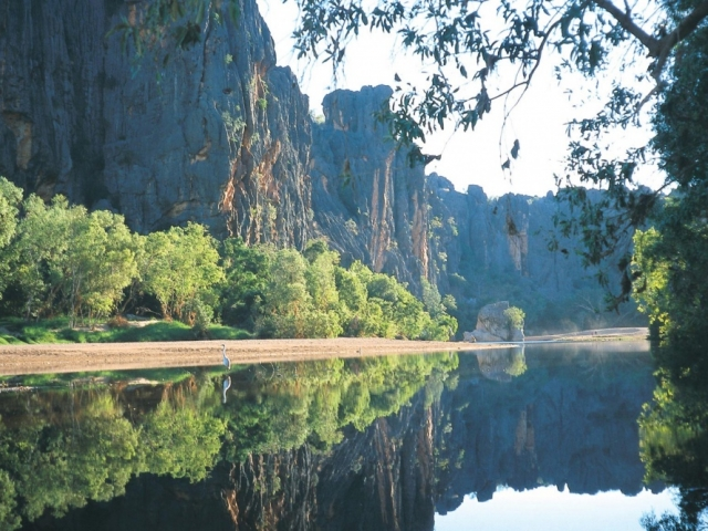 Broome to the Bungles, Windjana Gorge
