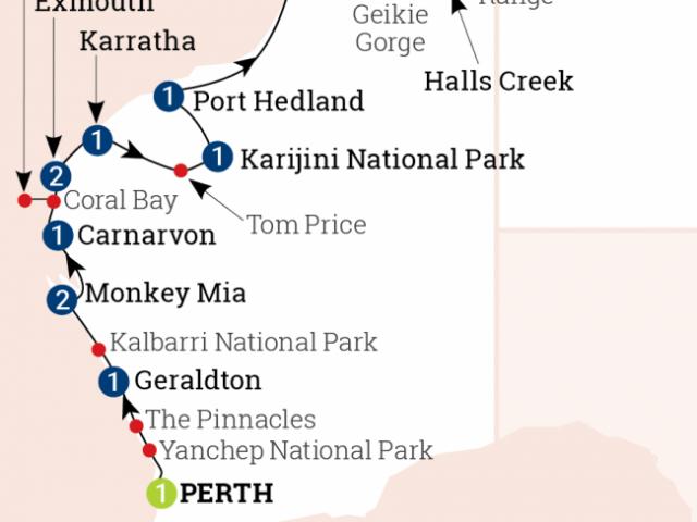 Wonders of the West Coast & Kmberley