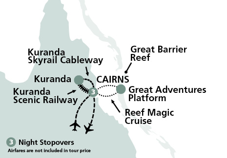 Carins and The Great Barrier Reef